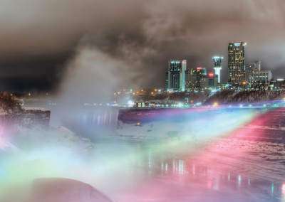 Niagara-Falls-winter-night