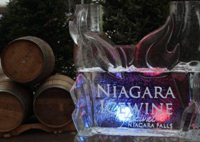 Niagara Icewine Carving