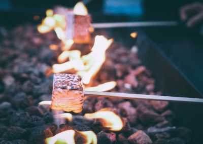 Icewine Marshmallows Fire